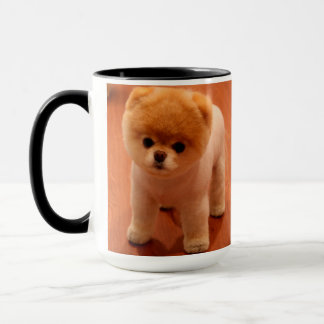 Pomeranian-cute puppies-spitz-pom dog-pom puppies mug
