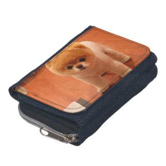 Pomeranian-cute puppies-spitz-pom dog-pom puppies wallets