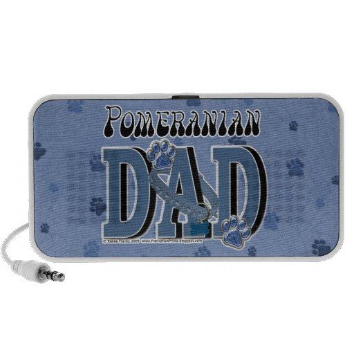 Pomeranian DAD Mini Speakers