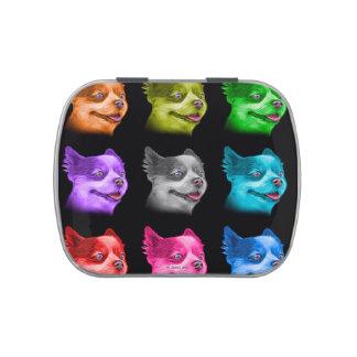 Pomeranian Dog Art 4584 - Bb Candy Tin