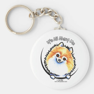 Pomeranian IAAM Key Ring