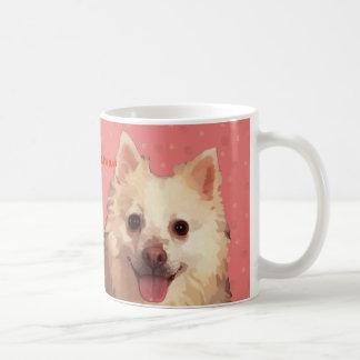 Pomeranian in Peach Colors Mug