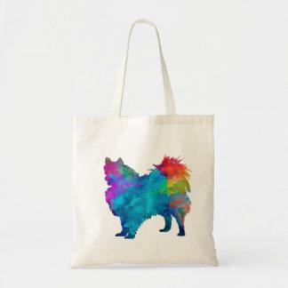 Pomeranian in watercolor