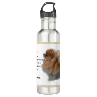 Pomeranian Lovers Gifts 710 Ml Water Bottle