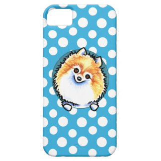 Pomeranian Pretty Polka Dots iPhone 5 Cover