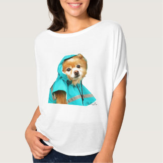 Pomeranian Raincoat #1 T-Shirt