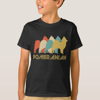Pomeranian Retro Pop Art T-Shirt