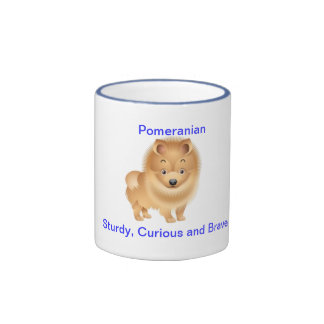 Pomeranian Ringer Mug