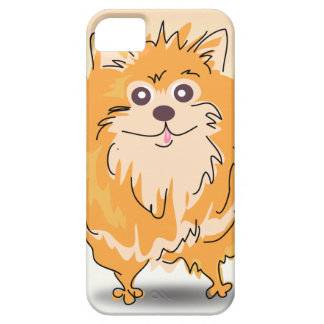 Pomeranian Spitz Dog Art iPhone 5 Cover