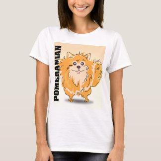 Pomeranian Spitz Dog Art T-Shirt