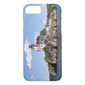 Pomham Rocks Lighthouse, Rhode Island iPhone 8/7 Case