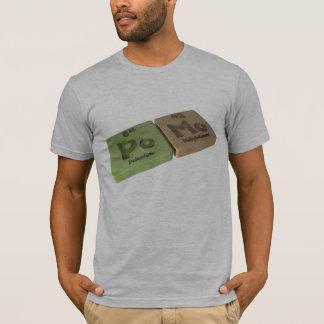 Pomo-Po-Mo-Polonium-Molybdenum T-Shirt
