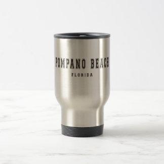 Pompano Beach Florida Travel Mug