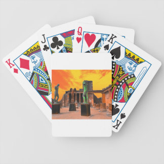 Pompei Italy Bicycle Playing Cards