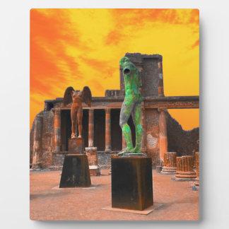 Pompei Italy Plaque
