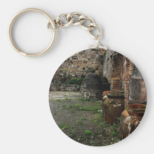 Pompeii - ancient vessels keychain
