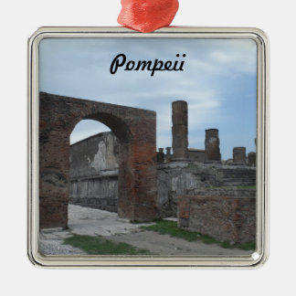 Pompeii, Italy Metal Ornament