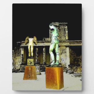 Pompeii Italy Plaque