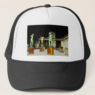 Pompeii Italy Trucker Hat