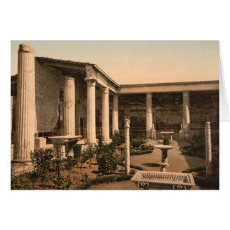 Pompeii, Peristyle of the House of Vetti Note Card
