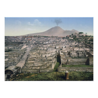 Pompeii Print