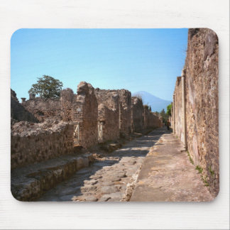Pompeii, Street with high pavements Mouse Pad