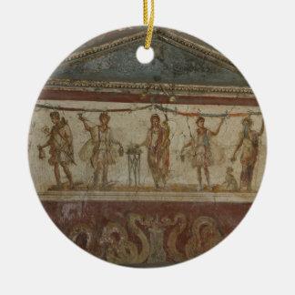 Pompeii Treasures custom ornament