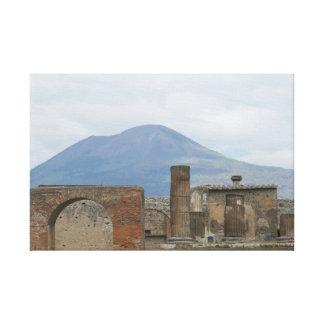 Pompeii-Vesuvius Canvas Print