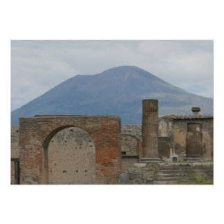 Pompeii-Vesuvius Poster