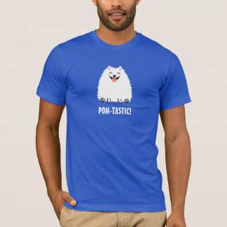 Pomtastic Pomeranian with Custom Text T-Shirt