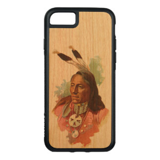 Ponca Chief: Standing Bear Carved iPhone 7 Case