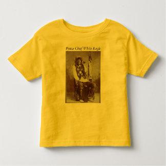 Ponca Chief White Eagle toddler shirt