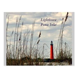 Ponce Inlet, Fl - Lighthouse Postcard