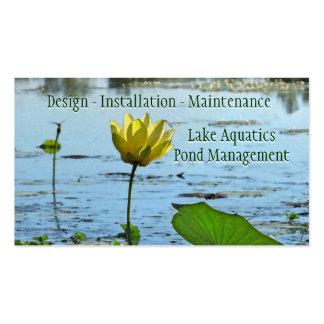 Pond Aquatics Management Business Card Template