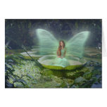 Pond Fairy Greeting Card