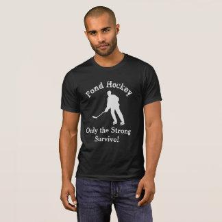 Pond Hockey Funny Sports Shirt
