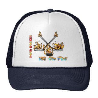"Pond Hockey ""Ice On Fire"" Hats"