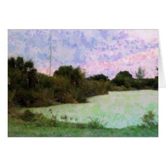 Pond Impressions Card