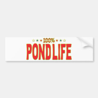 Pond Life Star Tag Bumper Stickers
