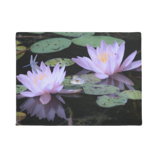 Pond Lilly and Frog Doormat