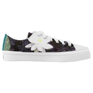 Pond lily shoe printed shoes