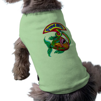 Pond Mile for Puppies Sleeveless Dog Shirt