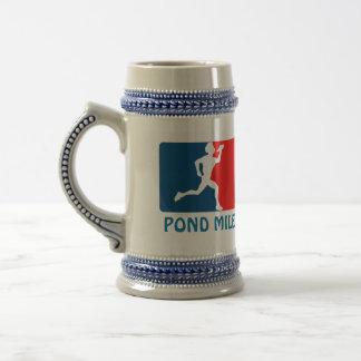 Pond Mile Logo Beer Stein