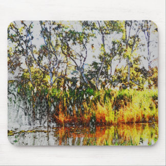 Pond Mouse Pad