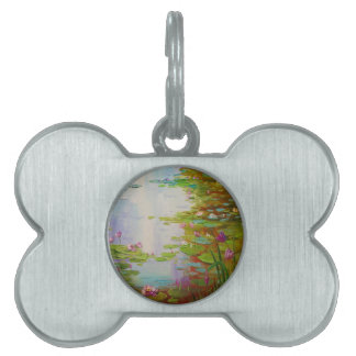Pond Pet Name Tag