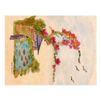Pond Scene Postcard