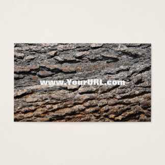 Ponderosa Pine Bark Business Card