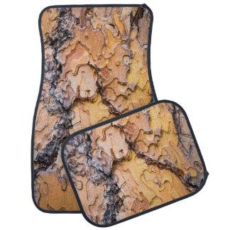 Ponderosa pine bark, Washington Car Mat