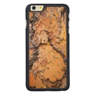 Ponderosa pine bark, Washington Carved® Maple iPhone 6 Plus Case