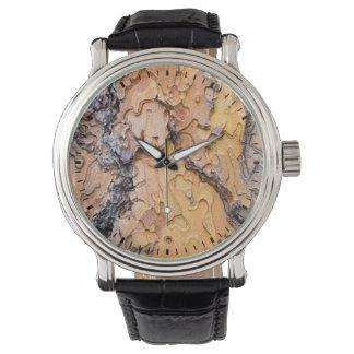 Ponderosa pine bark, Washington Wrist Watches